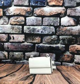 Petit sac à main blanc
