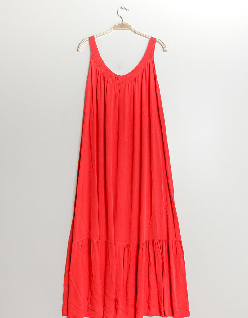 EMB Robe rouge taille unique