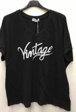 Tee shirt Vintage noir