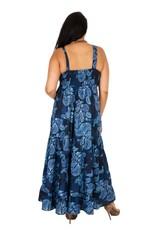 Allez Simplement Maxi robe bleue