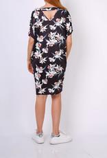 EMB Robe blouse soyeuse fleurie