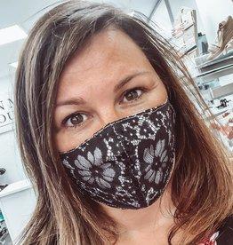 Masque dentelle noire