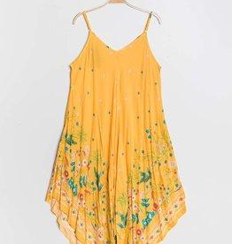 EMB Robe longue jaune