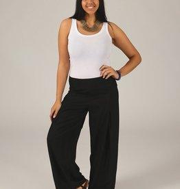 Pantalon noir coton