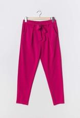 EMB Pantalon ceinture fushia