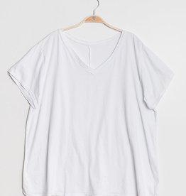 EMB Tee shirt uni TU GT Blanc