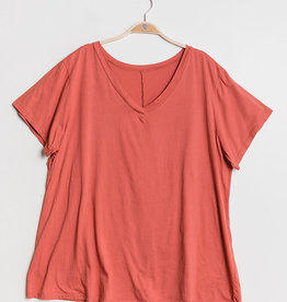 EMB Tee shirt uni TU GT Corail