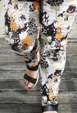 EMB Pantalon suedine orange kaki