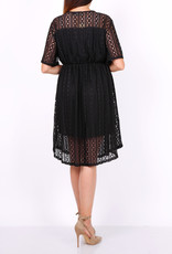 World Fashion Robe dentelle noire