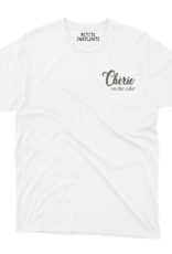 """Petite Insolente Tee shirt """" Cherie on the cake"""""""
