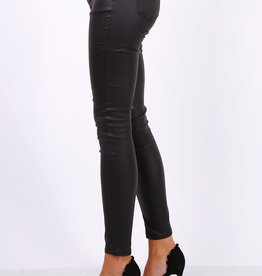 EMB Pantalon huilé noir