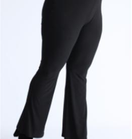 EMB Pantalon fluide noir bootcut