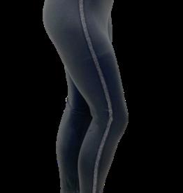 EMB Legging d'hiver avec bande argentée