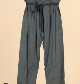 EMB Pantalon paperbag gris