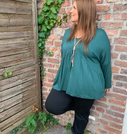 EMB Blouse ample canard