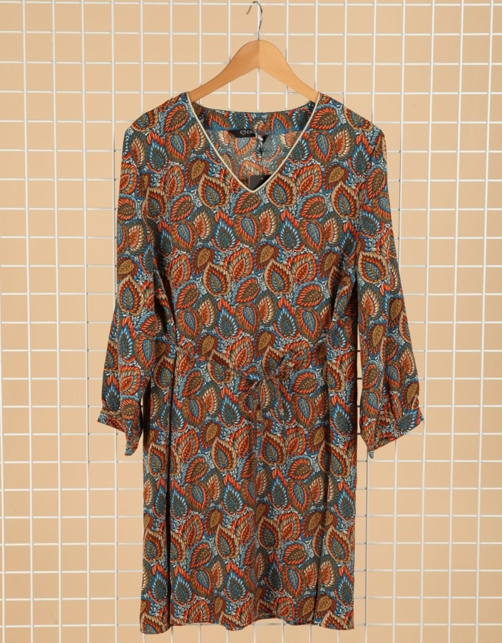 EMB Robe courte motif Oli