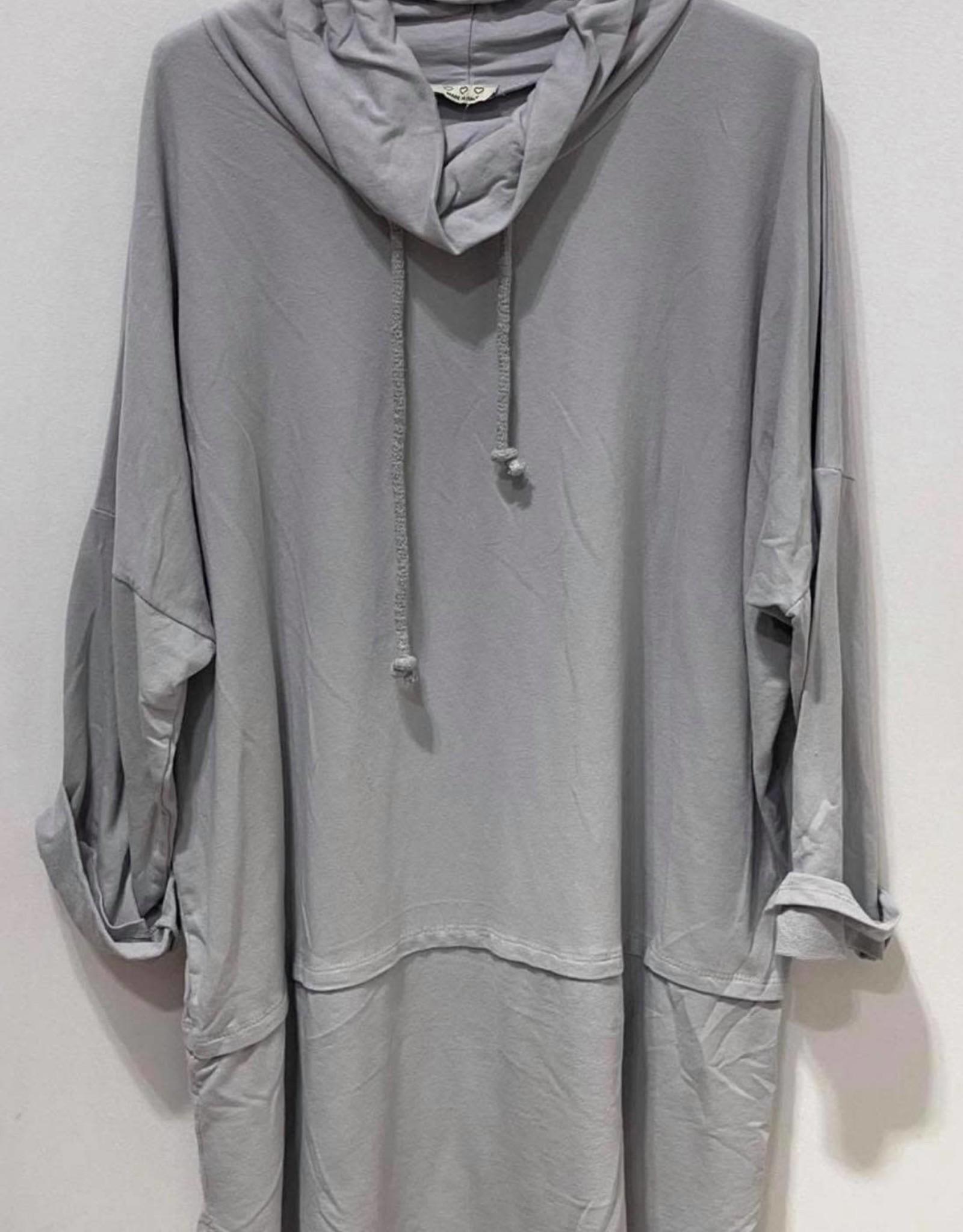 EMB Tunique coton Mela gris