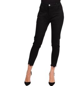 Jeans noir bas déchiré