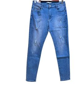 EMB Jeans bleu déchiré