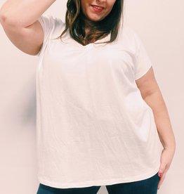 EMB Tee shirt basic blanc TU