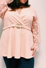 EMB Blouse Chann rose