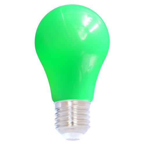 Ampoule guinguette LED verte, 2 & 5 watts, grande enveloppe, Ø60