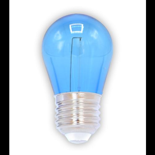 Ampoule LED à filament coloré, 1 watt, bleu
