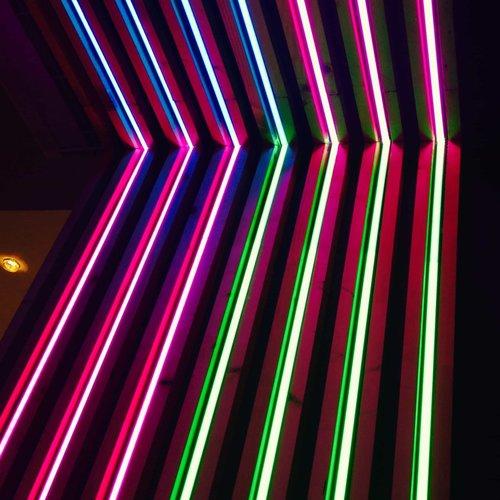 Néon LED - Blanc chaud - DINA