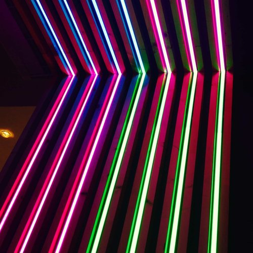 Néon LED - Rouge - DINA