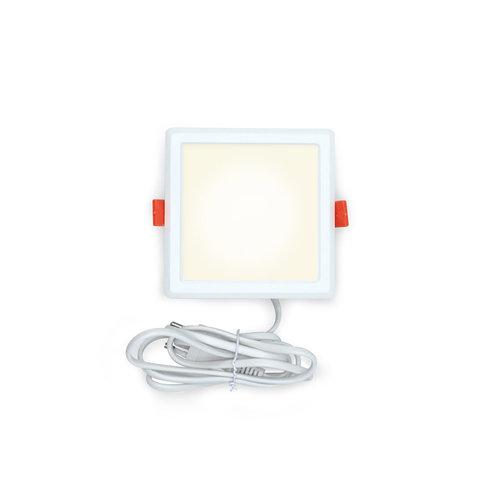 Plafonniers intensifs LED carrés - 6 watt - 115 x 115mm