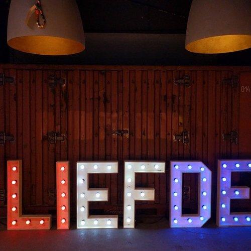 Ampoule guinguette LED rouge, 1 watt, Ø45