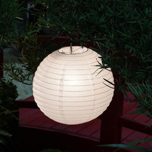 Lanterne blanche pour l'extérieur, Ø35cm