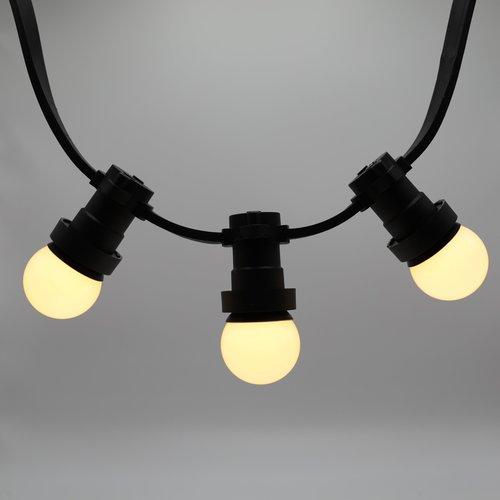 Lampes blanc chaud avec enveloppe blanc laiteux, dimmable, Ø45 - 2 watt (2650K)