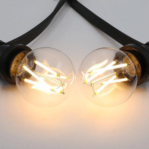 Ampoule 7W & 9W, 2200-2700K, verre clair Ø60, dimmable jusqu'à chaud