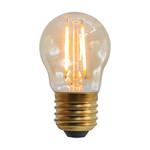 Ampoule 2,5W & 4,5W, 2000K, verre ambré Ø45 - dimmable