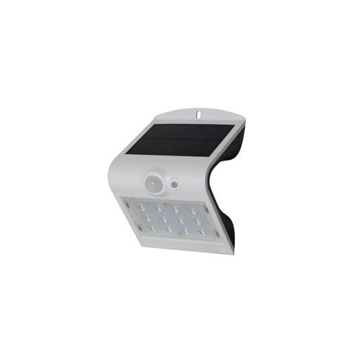 Applique solaire Alien 1.5W avec capteur - blanc