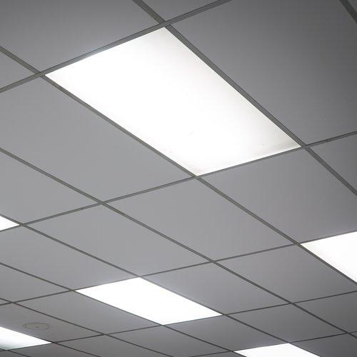 Panneau LED 36W 120x30 cm - sans scintillement