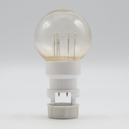 Ampoule - 0,7W blanc chaud sur bâtonnets (sans raccord E27)