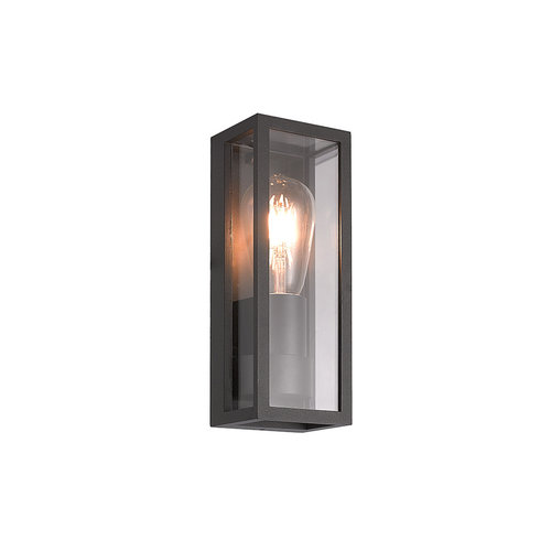 Lampe suspendue industrielle Valentina - noire