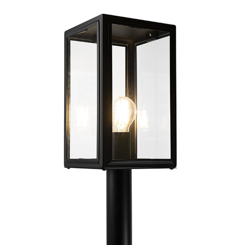Lampadaire industrielle Giovanni - noire