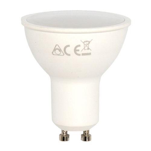 Ampoule LED GU10 intelligente dimmable RGB et CCT, 4,9W - 100°.
