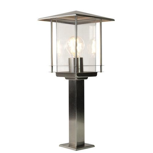 Lampe extérieur classique Rocco en acier inoxydable, 45 cm