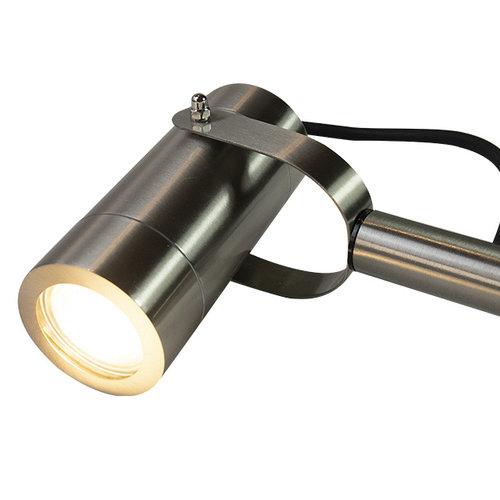 Spot extérieur en acier inoxydable, 31cm