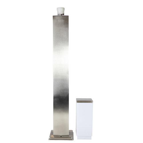 Lampe extérieur en acier inoxydable Luigi, 80 cm