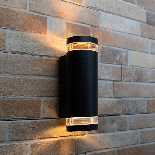 Applique extérieur Showman 2 lumières - noire