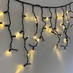Guirlande stalactite | 42 mètres avec 1592 lampes - Blanc chaud