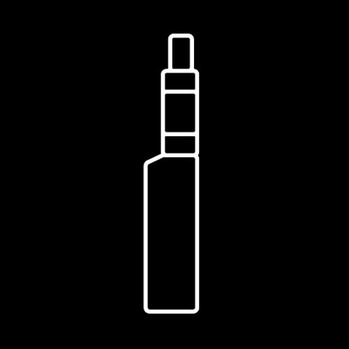 Hoge PG   ↑ 50% PG   Coil ↑ 1.0 Ohm