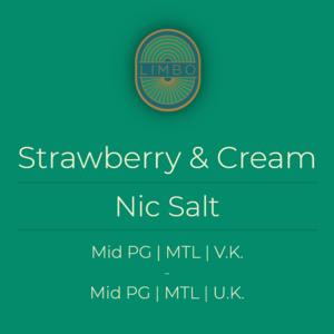 Aisu (Yoguruto) Strawberry & Cream (Nic Salt)