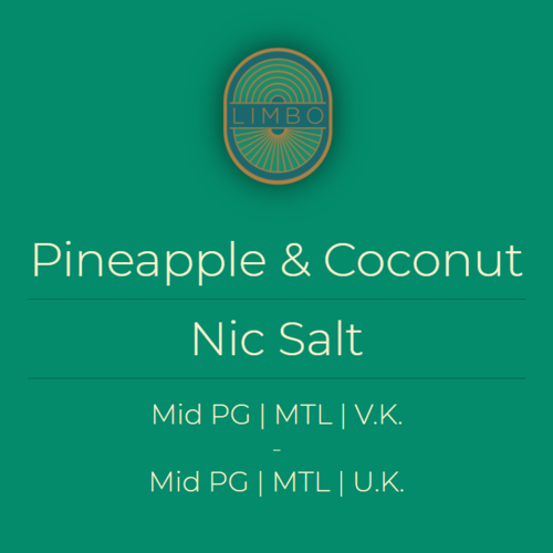 Aisu (Yoguruto) Pineapple & Coconut (Nic Salt)