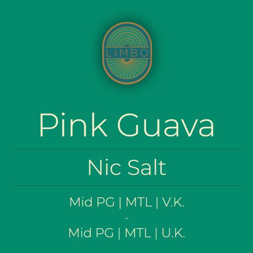Aisu (Salt) Pink Guava 50PG/50VG